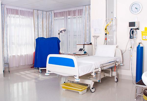 quarto de hospital dedetizado
